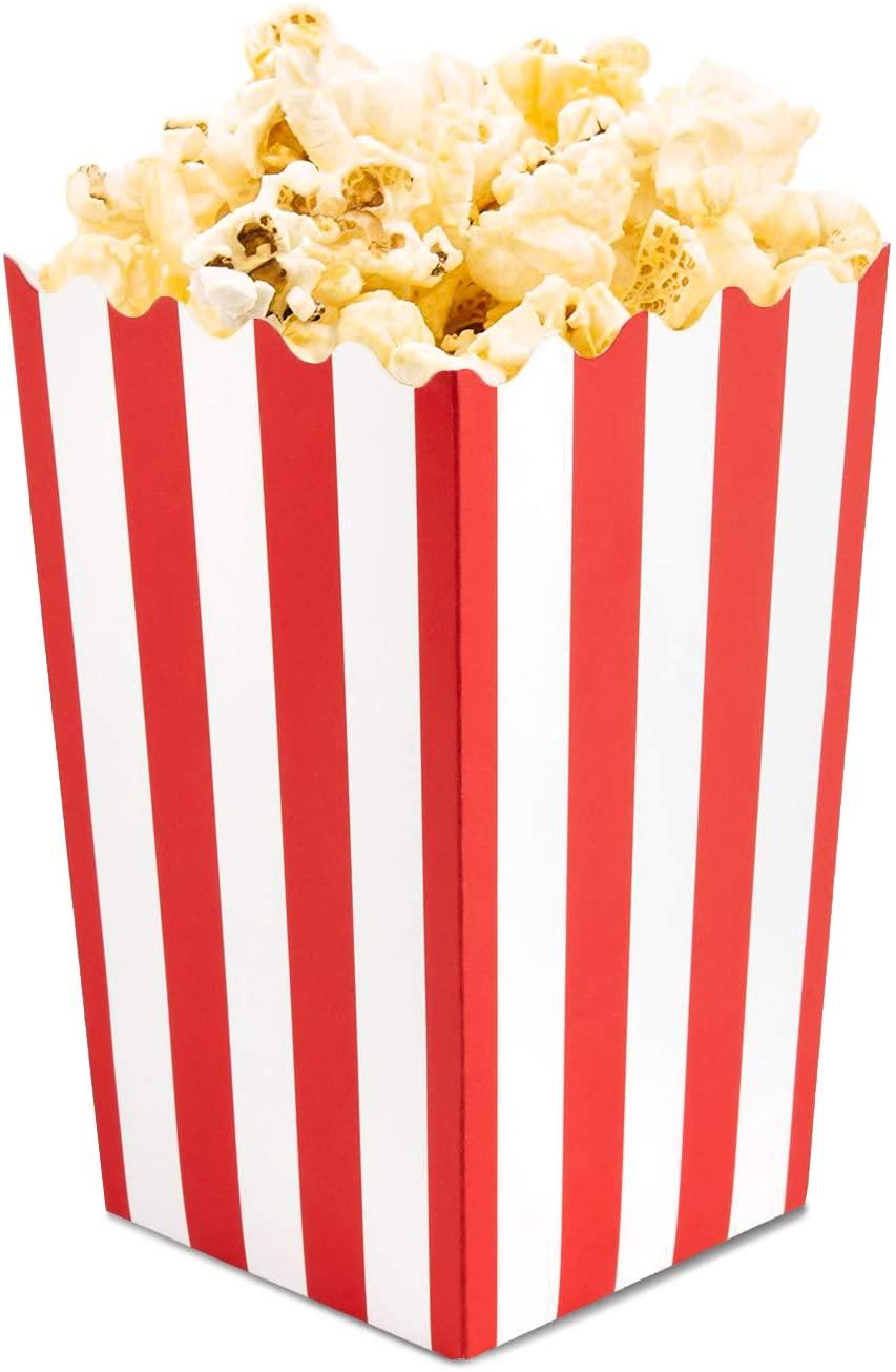 Mini Popcorn Party Favor Boxes (100 Pack)