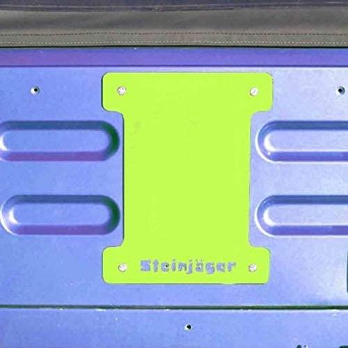 Steinjager J0046386 - Gecko Green Spare Tire Carrier Delete Plate