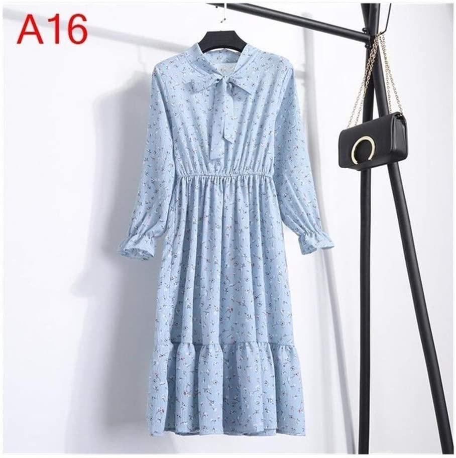Without logo DSJTCH Women's Clothing Dresses Maternity Girls' Erotic Dresses, Clothing, Women Sleeveless Dress Sexy Party Casual Autumn Korean Style Shirt Long Sleeve Summer (Color : A16, Size : S)