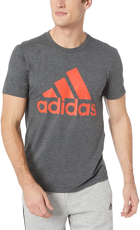 adidas Mens Athletics Badge of Sport Tee