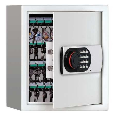 GRAINGER APPROVED Key Cabinet Digital Lock 64 Keys