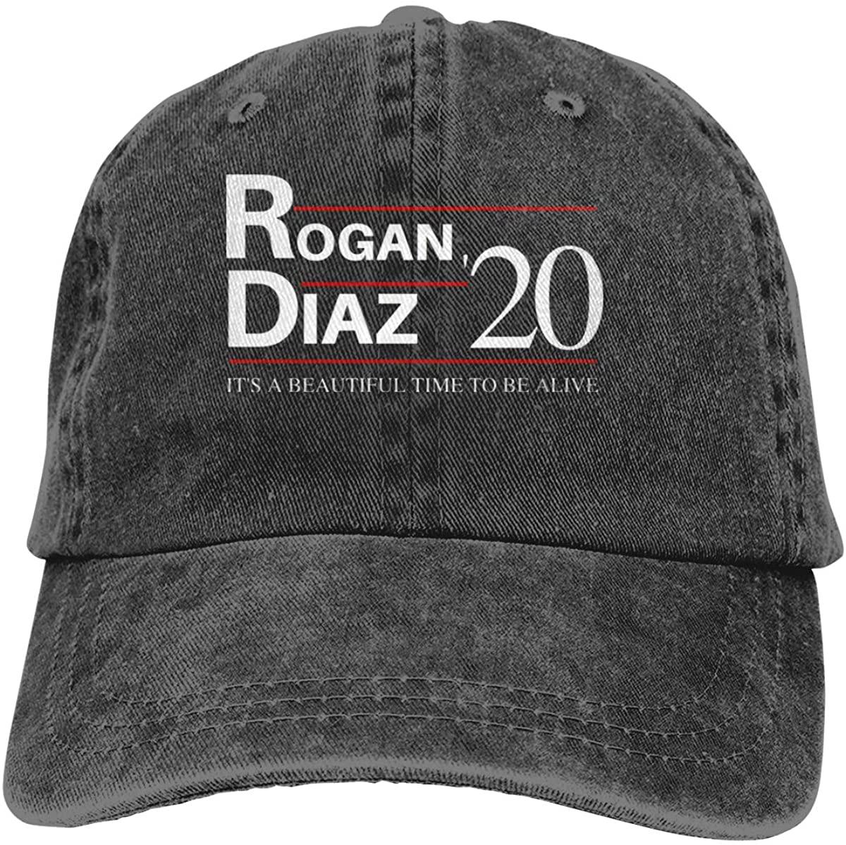 GOOANGUS Joe Rogan Joey Diaz 2020 Adjustable Unisex Hat Baseball Caps Black