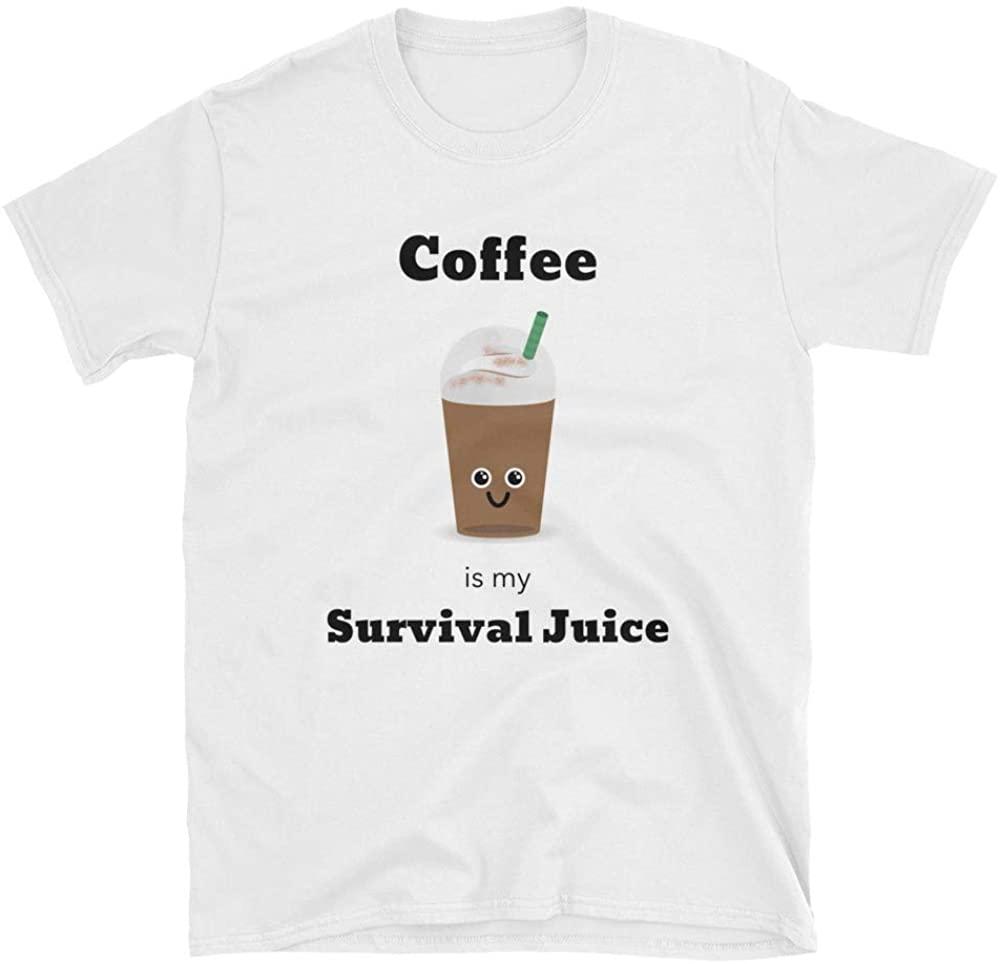 Mambolux Coffee is My Survival Juice Unisex T-Shirt