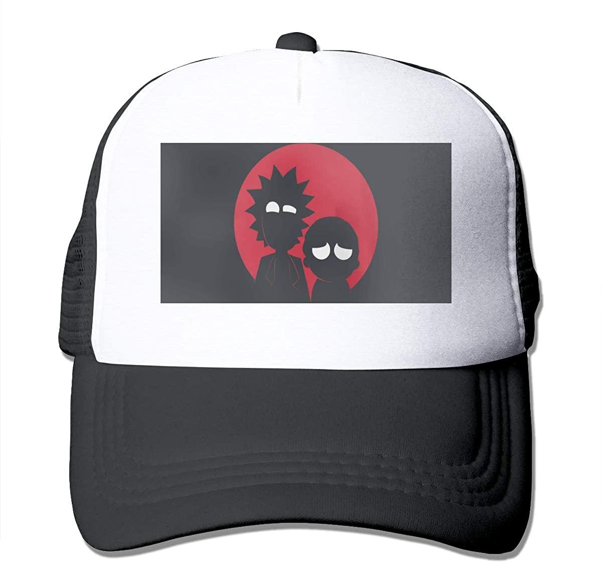 Cbjdsu-CNDSJH Rick and Moti Unisex Trucker Hats Adjustable Hat Chapeau