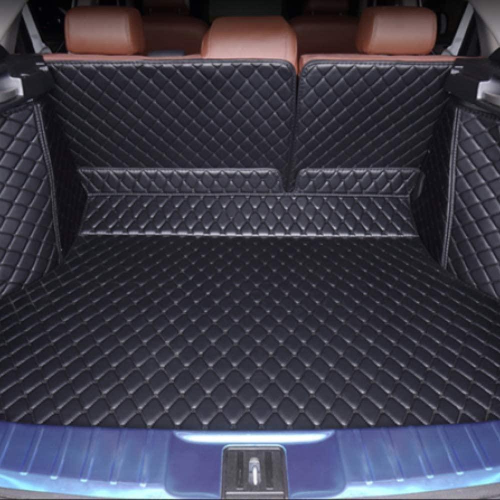 PXX Car Trunk Mat,for Renault Koleos Laguna Kadjar,Custom Made Easy to Decontaminate Waterproof and Non Slip Car Trunk Mat Ect,Black (1BK)