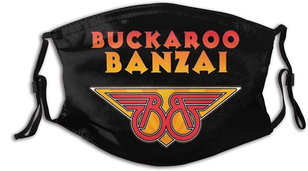 Aaronxt Buckaroo Banzai Unisex Face Mouth Cover Windproof Dust Protection Scarf Bandana