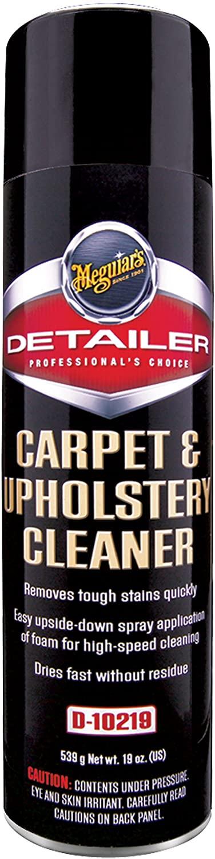 MEGUIAR'S D10219 Carpet & Upholstery Cleaner, 19 Ounces