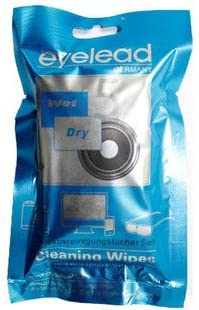 Kaavie - Eyelead LCW-1 Set of Cleaning Cloths 5 +5, Cleans Perfectly Without Leaving Any dust Particles(Germany)