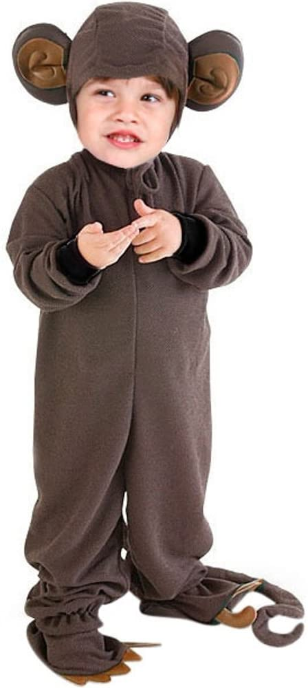 Child's Monkey Suit Costume (Size: X-Small 4-6)