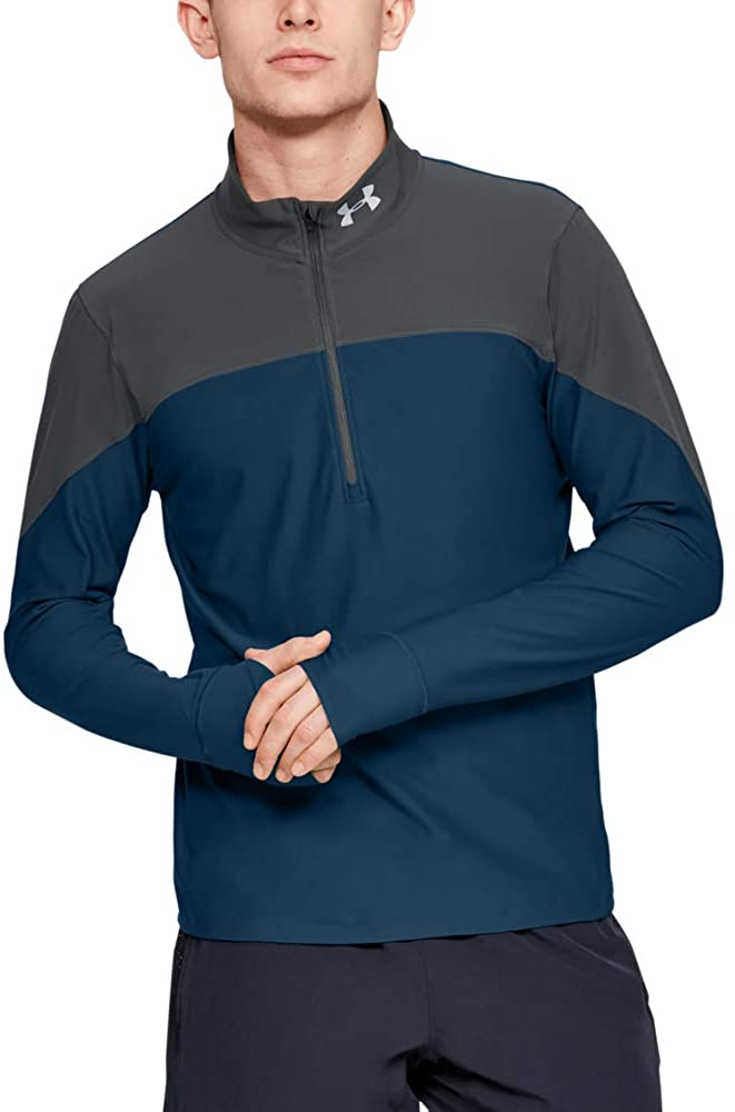 Under Armour Mens Qualifier Half-Zip T-Shirt
