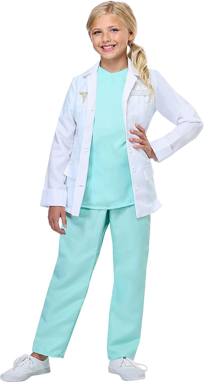 Child Doctor Costume Child's Lab Coat Doctor Costume