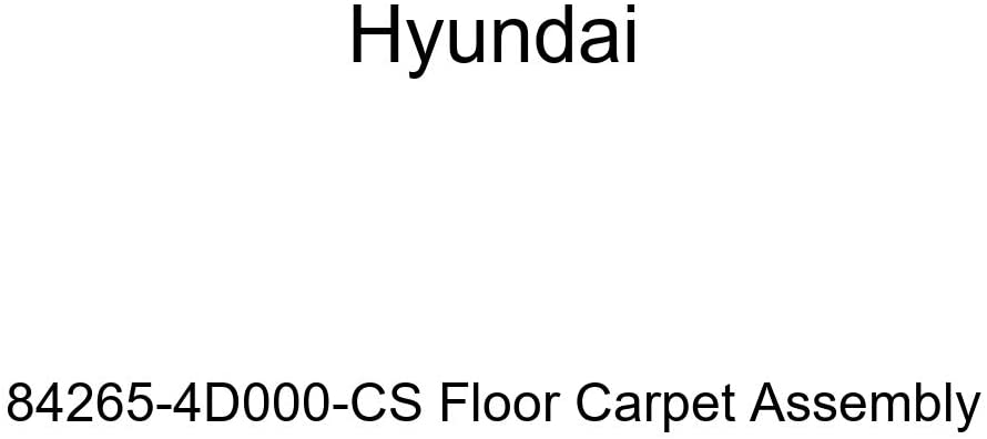 Genuine Hyundai 84265-4D000-CS Floor Carpet Assembly