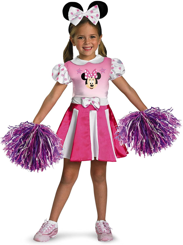 Disney Minnie Mouse Cheerleader Girls' Costume