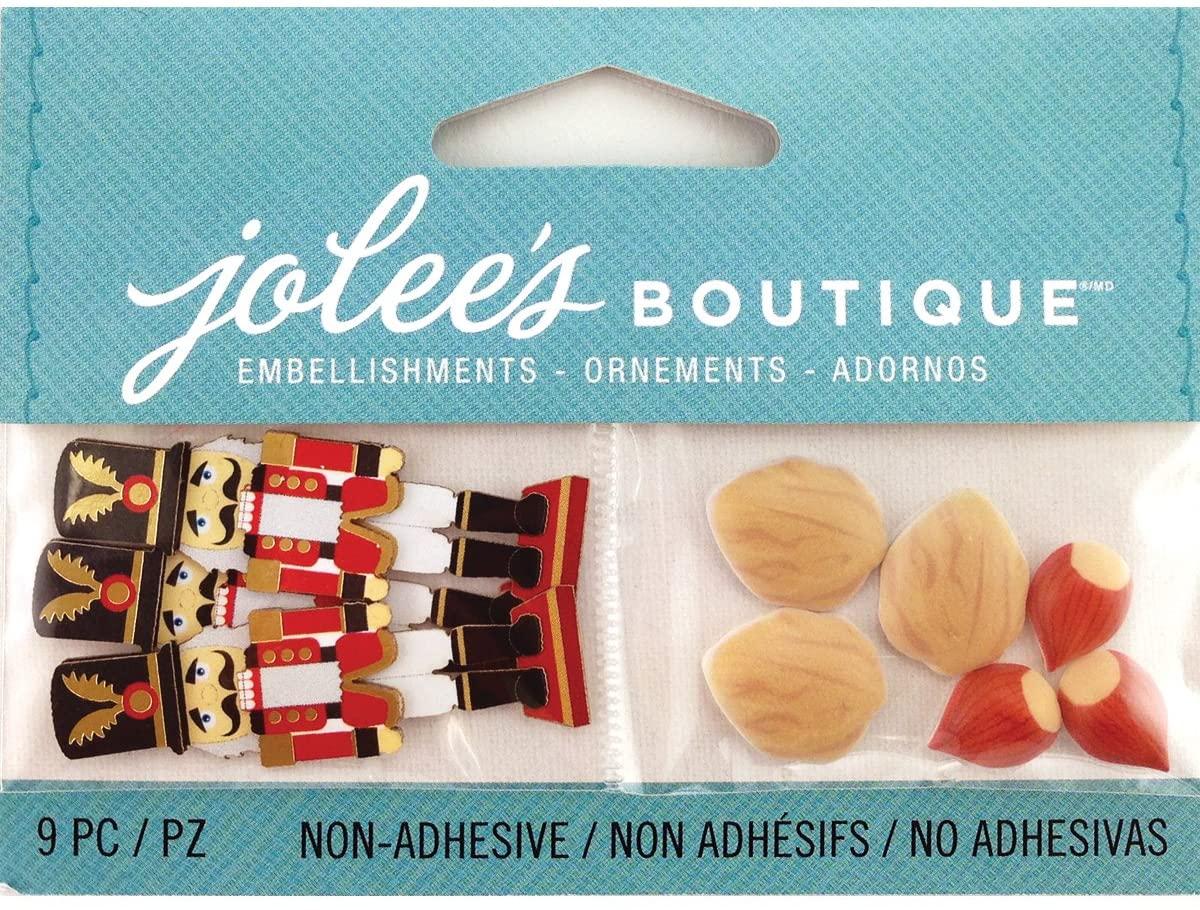 Jolee's Boutique Scrapbooking Embellishments, Mini Nutcracker