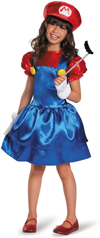 Mario Skirt Version Costume, Medium (7-8)