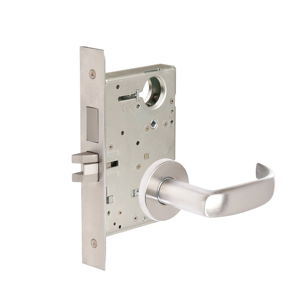 CORBINRUSSWIN ML2024-PSA-626-LC 626 Satin Chrome, Lever PSA Princeton, Entrance/Entry/Office, Steel; Stainless Steel; Brass