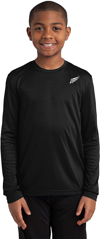 MI Falcon Boys' Full Sleeve Top Performance T-Shirt