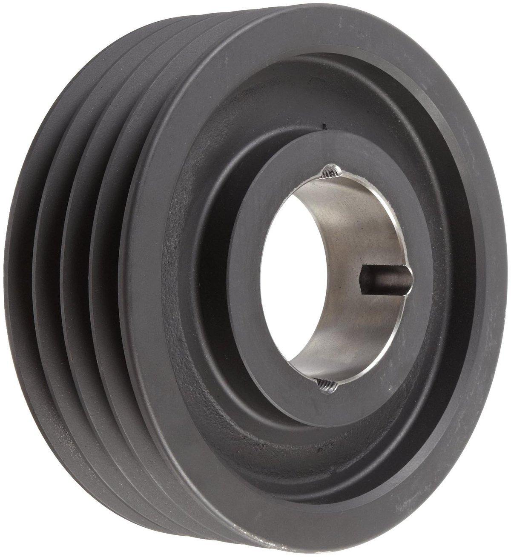 TL SPA212X4.3020 Ametric Metric 212 mm Outside Diameter, 4 Groove SPA/13 Dynamically Balanced Cast Iron V-Belt Pulley/Sheave,for 3020 Taper Lock Bushing, (Mfg Code 1-013)