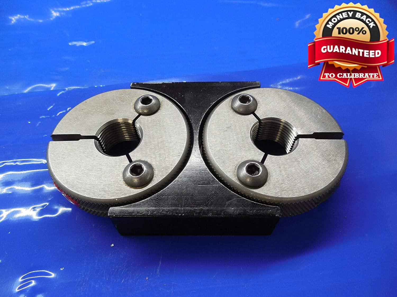M18 X 1.5 6g Metric Thread Ring GAGES 18.0 GO NO GO P.D.'S = 16.959 & 16.853 mm