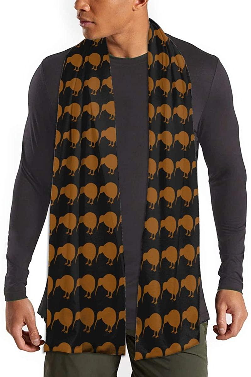 Kiwi Bird Unisex Warm Shawls Imitation Scarf Winter Neckerchief