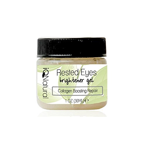 Rested Eye Serum that Lightens, Brightens, Removes Dark Circles, Corrects Skin Sagging, Reverse Hyperpigmentation, Discoloration, Plumps & Firms Up Eye Area