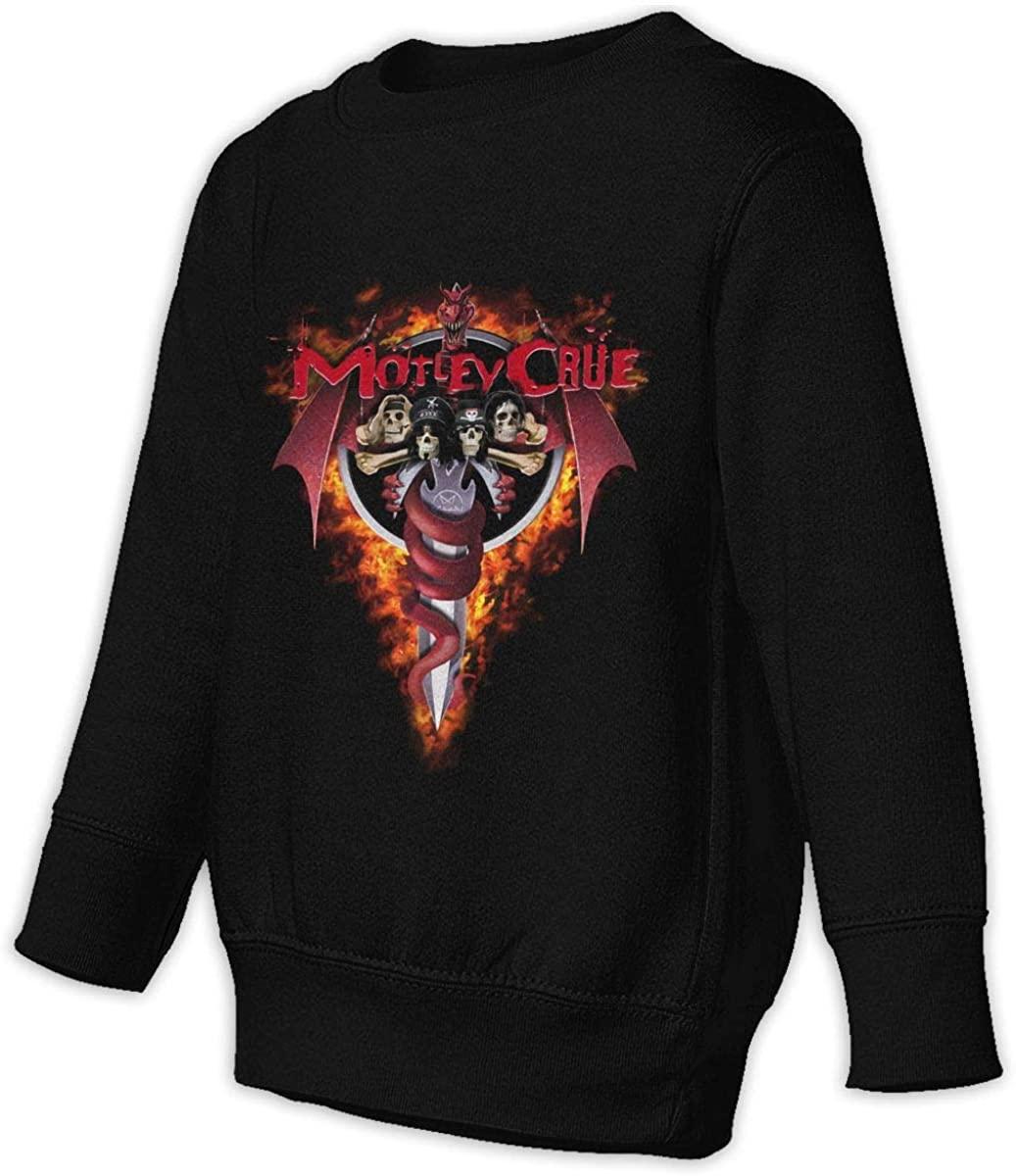 NOT Motley Crue Logo Unisex Sweatshirt Youth Boy and Girls Pullover Sweatshirt