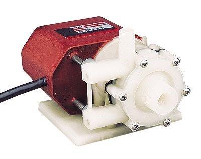 Mini Submersible Magnetic Drive Pump, Liquid-Cooled, 8.5 GPM, 230 VAC