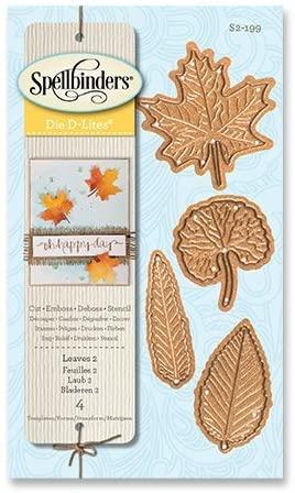 Spellbinders D-Lites Dies ~ Leaves 2