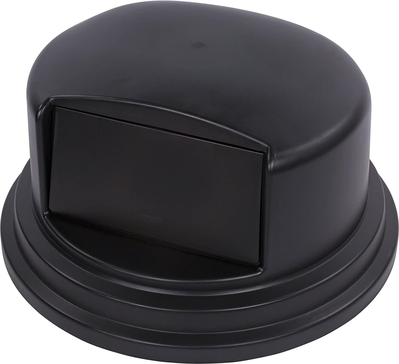 Carlisle 34105703 Bronco Polyethylene Dome Lid, 27-1/4 x 14-1/2