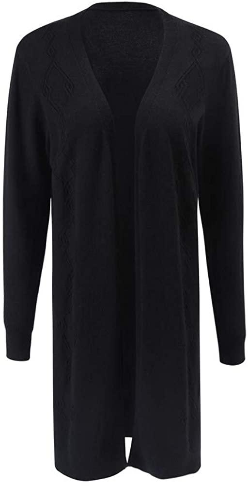 Women's Loose Knitted Sweater Long Seleeve Cardigan Coat