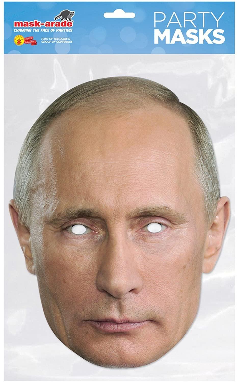 Mask-erade Rubies Vladimir Putin Facemask (One Size)