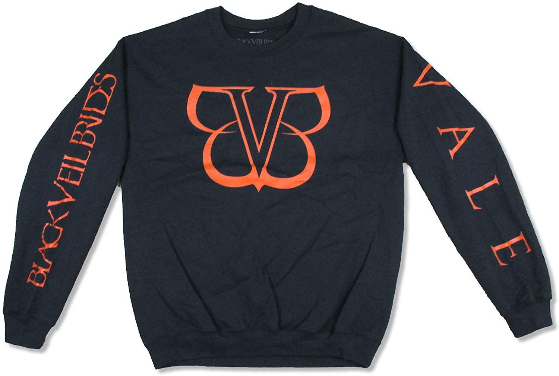 Black Veil Brides BVB Vale Black Crew Neck Sweatshirt