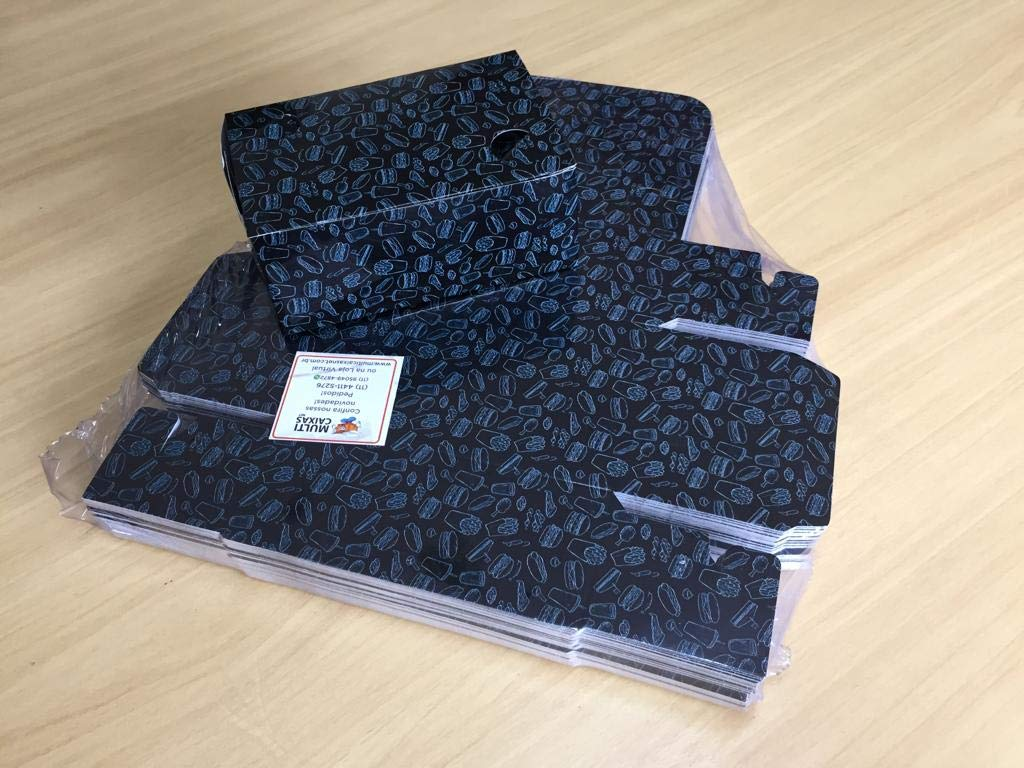 Multipurpose Delivery Box - Small (Package_100, Black)