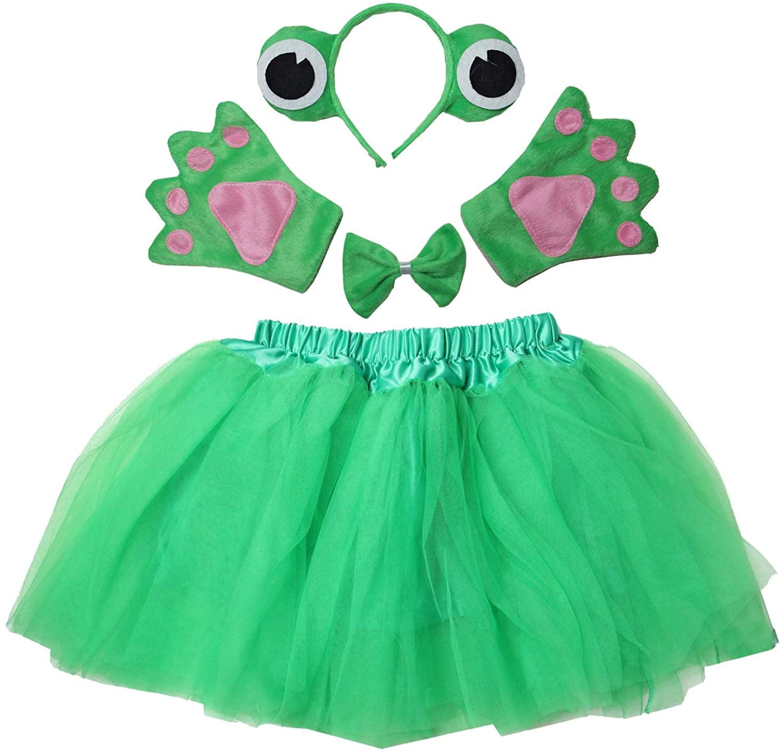 Kirei Sui Kids Animal Costume Tutu Set Frog