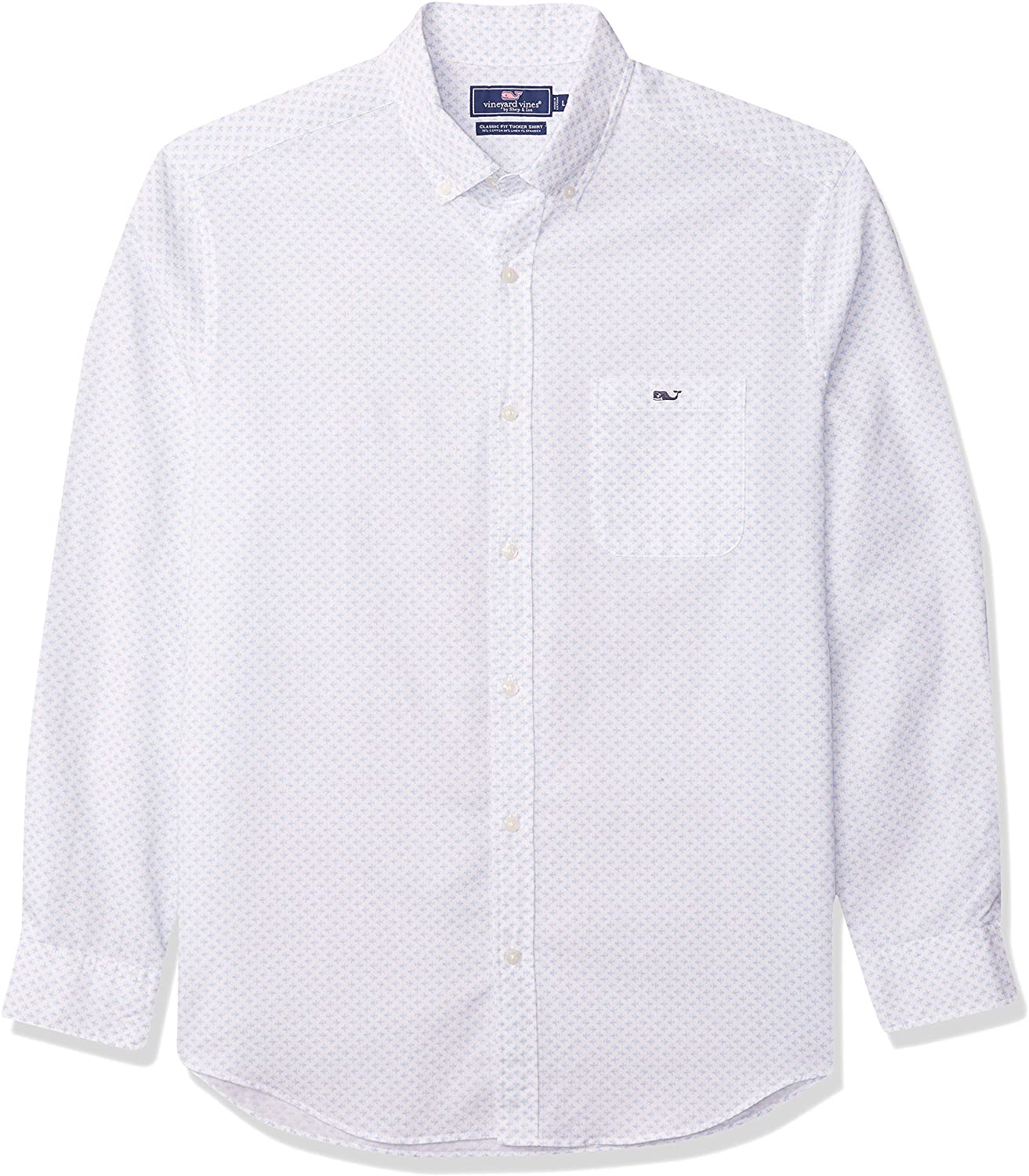 Vineyard Vines Men's Classic Fit Long-Sleeve Floridian Tucker Shirt