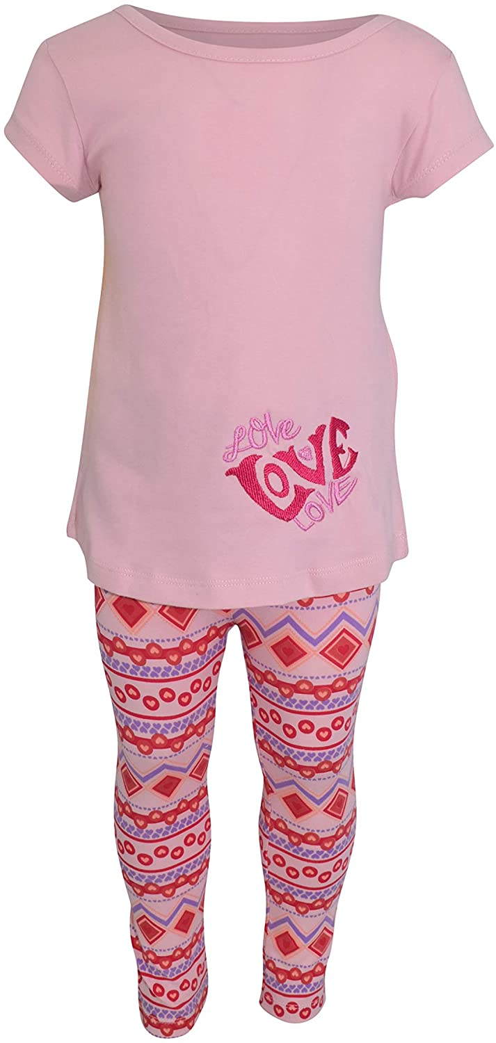 Unique Baby Girls Pink Tunic Love Valentines Day Outfit