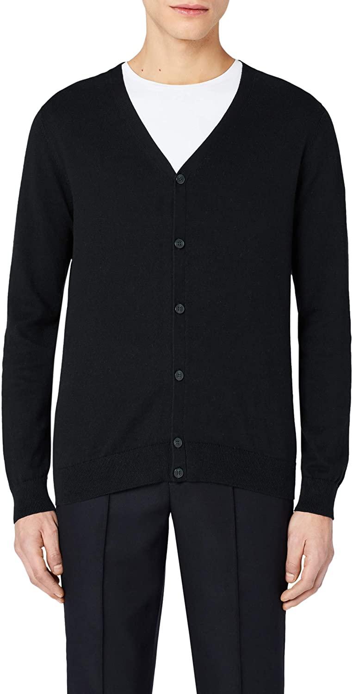 DHgate Brand - MERAKI Men's Cotton V Neck Cardigan