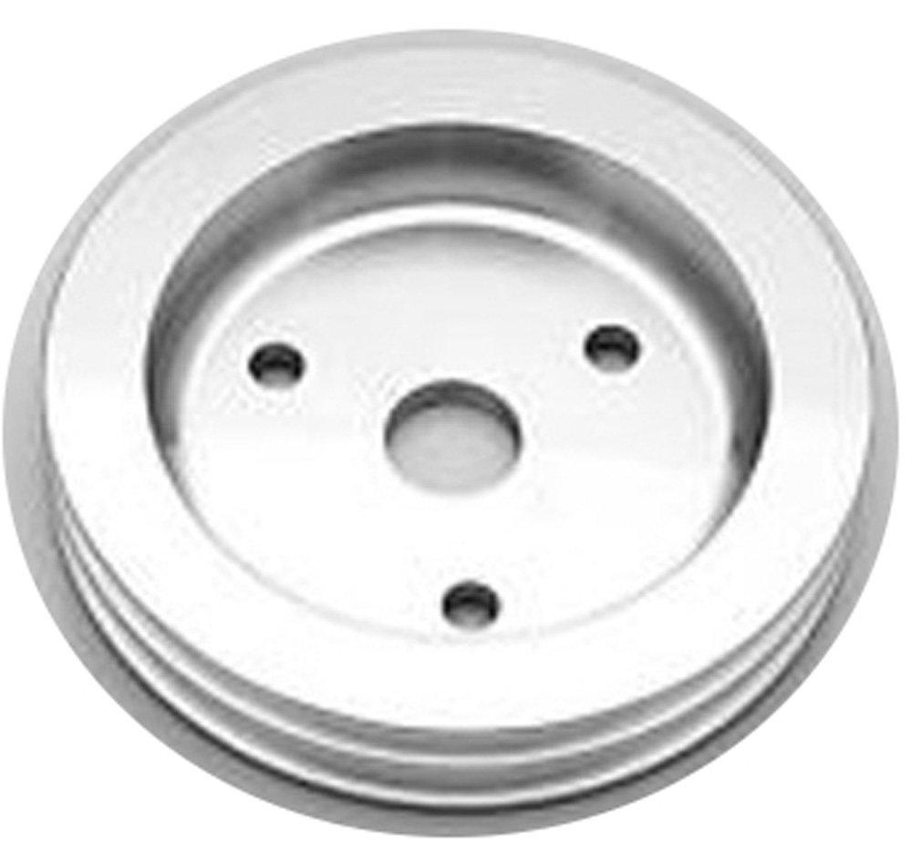 SPZ 80X2 Ametric Metric Aluminum V Belt Pulley, for SPZ Profile V-Belt, 2 Groove, 80 mm Pitch Diameter, (Mfg Code 1-033)