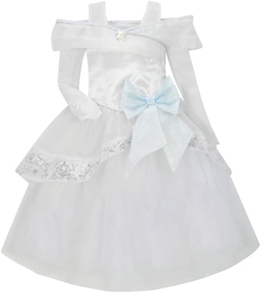 Disney Store Deluxe Cinderella Wedding Costume Dress Heart shaped Jewel (L Large 10)