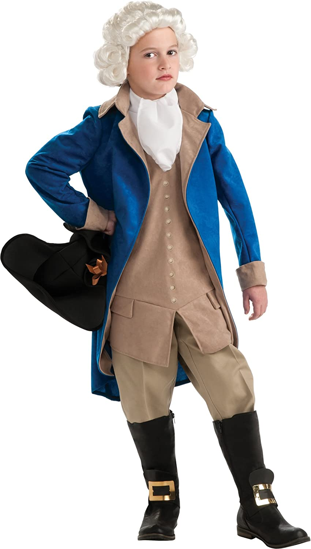 Rubie's Child's Deluxe George Washington Costume, X-Large