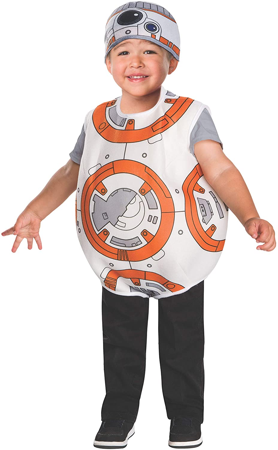 Rubie's Star Wars VII: The Force Awakens BB-8 Costume, Multicolor, 2T