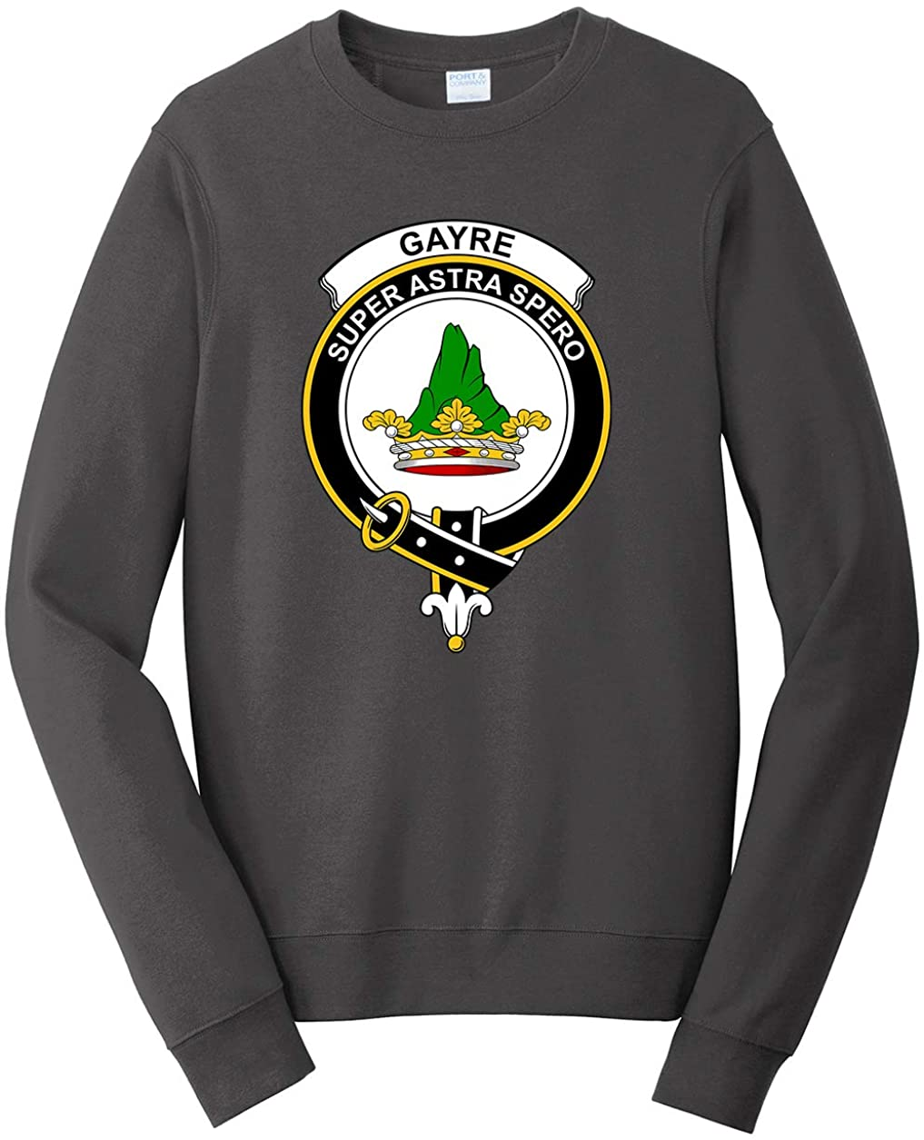 Tenacitee Unisex Scottish Clan Crest Badge Gayre Sweatshirt