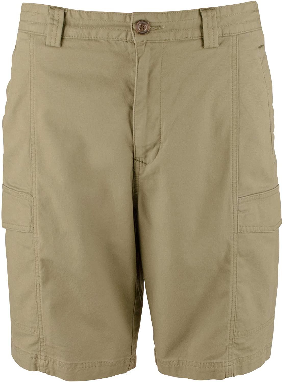 Tommy Bahama Key Isles Cargo Golf Bermuda Shorts (Color: Tea Leaf, Size 32)