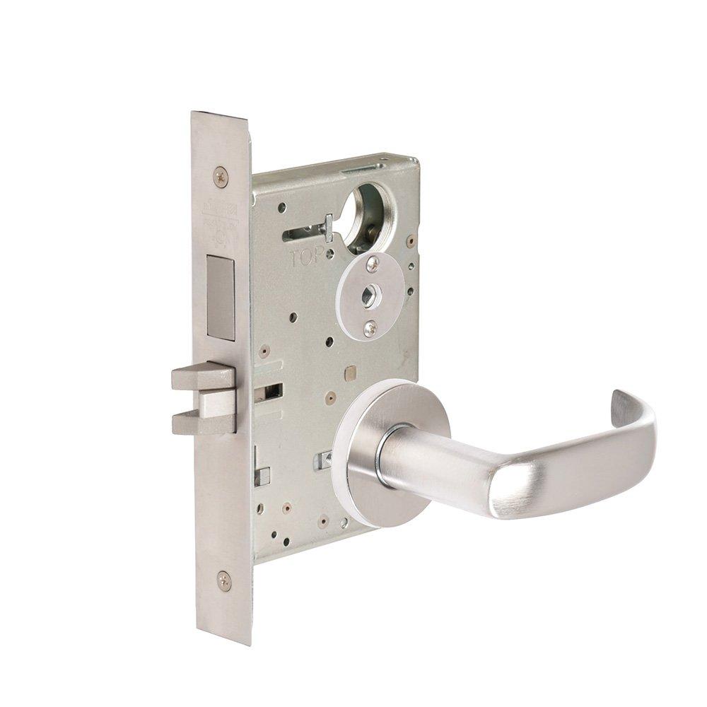 CORBINRUSSWIN ML2020-PSA-626 626 Satin Chrome, Lever PSA Princeton, Privacy/Bed/Bath, Steel; Stainless Steel; Brass
