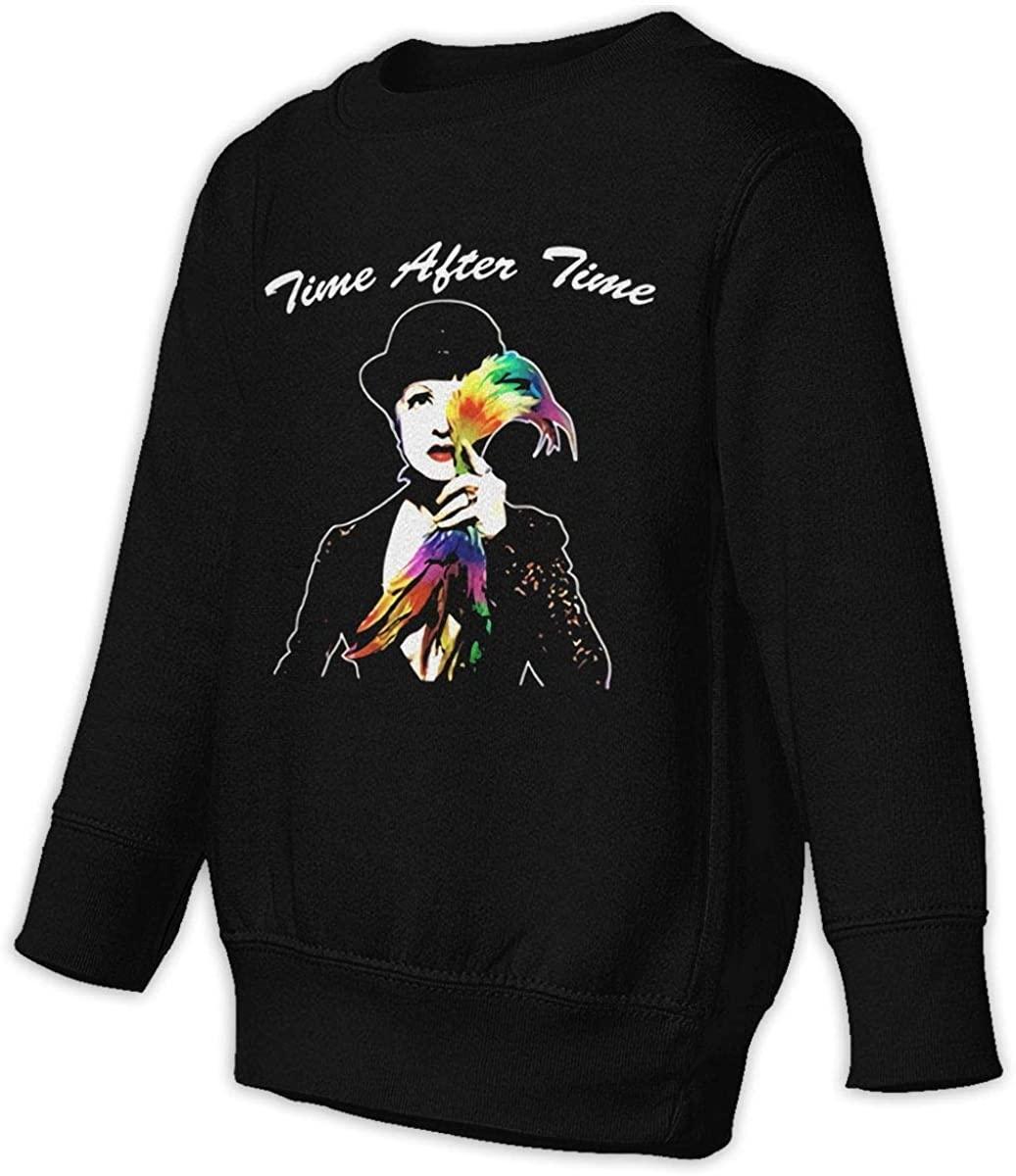 LSHLKJDFN Cyndi Lauper Unisex Sweatshirt Youth Boy and Girls Pullover Sweatshirt Black