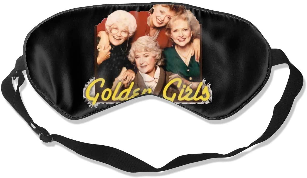 Golden Girls Blindfold Sleeping Mask Eye Mask for Sleeping Blindfolds for Sleeping Fully Adjustable Strap Soft Portable
