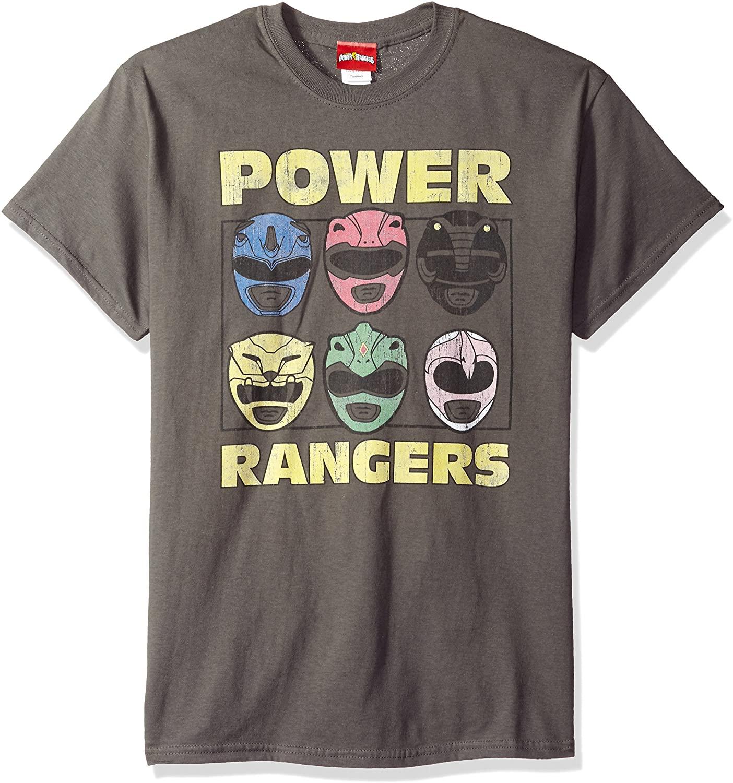Trevco Men's Power Rangers Short Sleeve T-Shirt