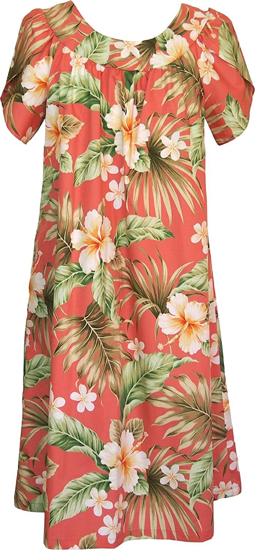 RJC Womens Full Bloom Muumuu Dress - Tea Length