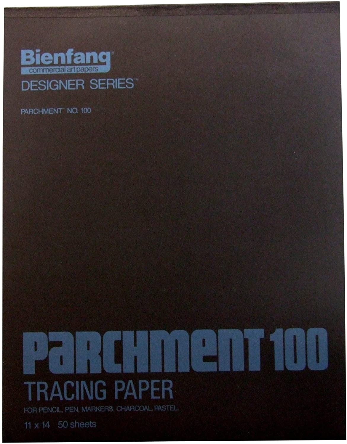Bienfang 11 by 14-Inch Parchment 100 Pad, 50 Sheets