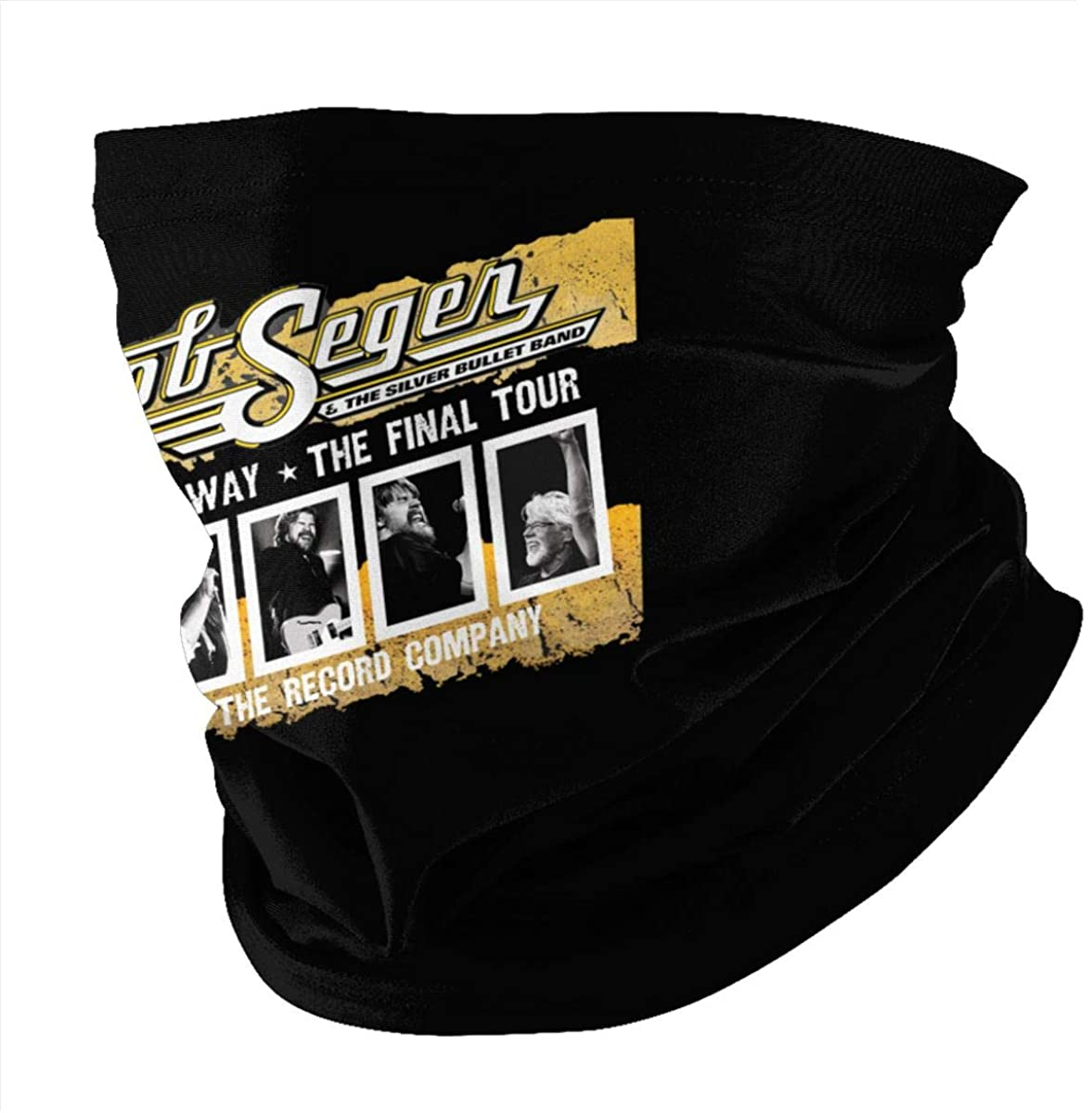 2 Pcs Face Mask With Pocket Bob The Final Seger Tour 2018 2019 Protection Mouth Cover Neck Bandanas Scarf For Washable Outdoor Dust Sun Resitant Men Women